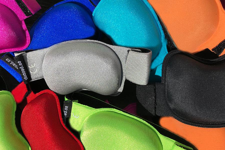 Musarmsstöd, skydd som hjälper – i många fina färger